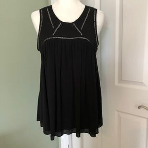 Search for Sanity Black Top (M)